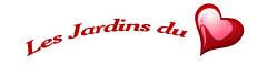 Logo du site web Les Jardins du Coeur.